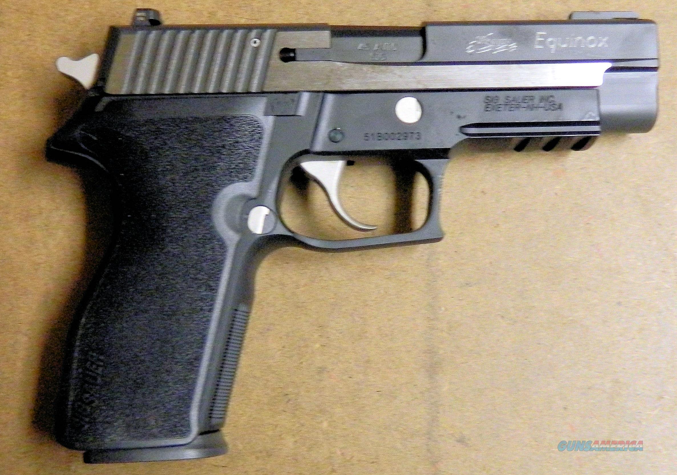 Sig Sauer Model P227R Equinox, 45 ACP Cal.  Guns > Pistols > Sig - Sauer/Sigarms Pistols > P227