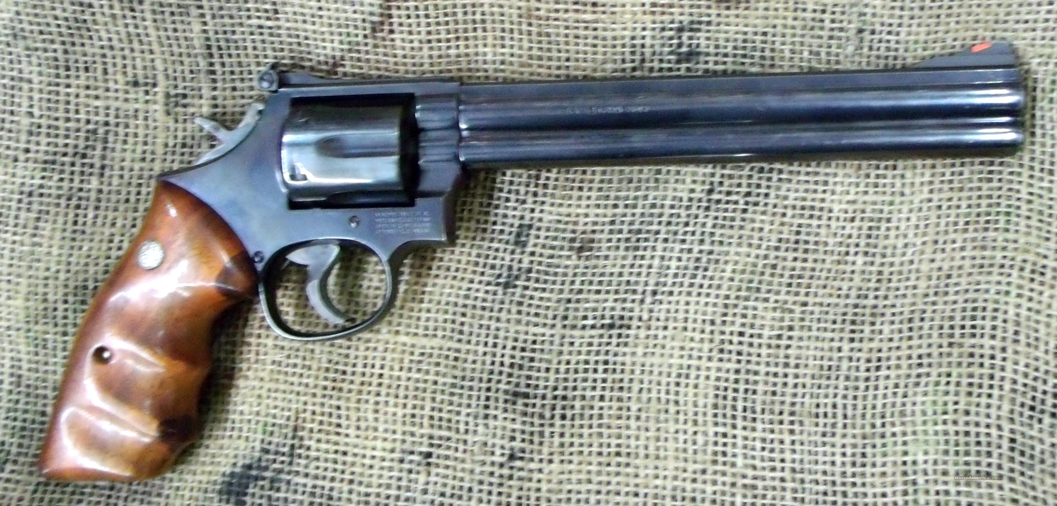 "SMITH&WESSON Model 586, 8 3/8"" BBL  Guns > Pistols > Smith & Wesson Revolvers > Full Frame Revolver"