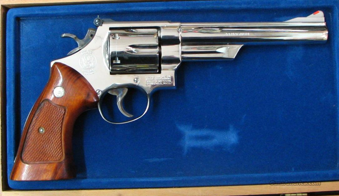 SMITH&WESSON Model 29-2, Nickel, 6.5 inch Bbl   Guns > Pistols > Smith & Wesson Revolvers > Full Frame Revolver