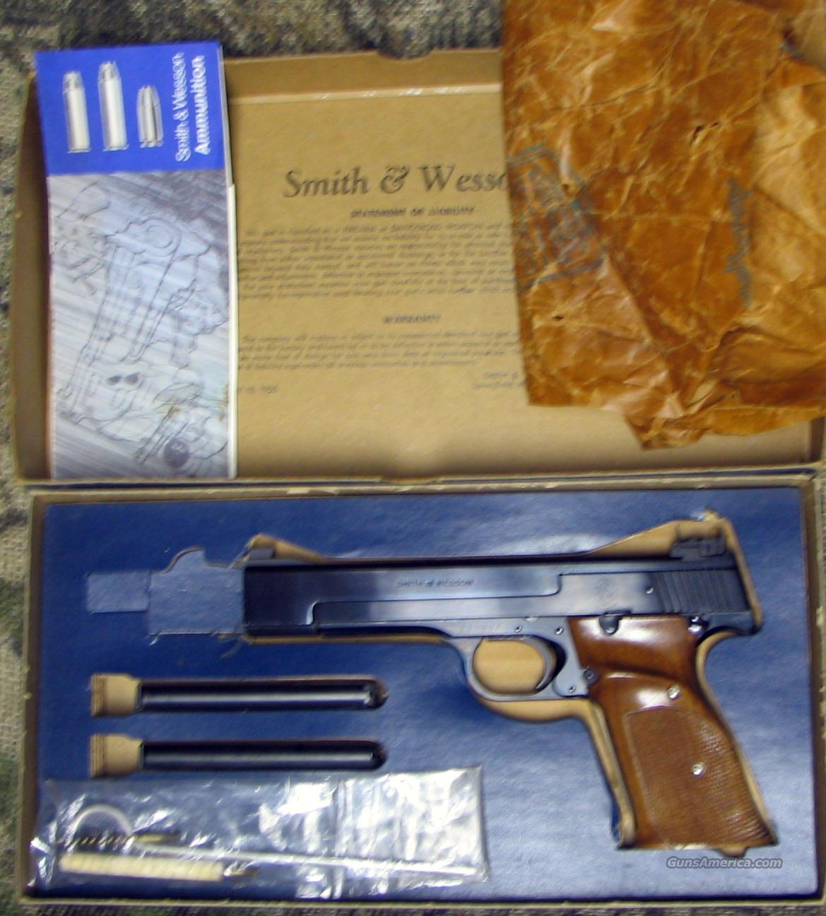 SMITH & WESSON Mod. 41 Pistol  Guns > Pistols > Smith & Wesson Pistols - Autos > Steel Frame