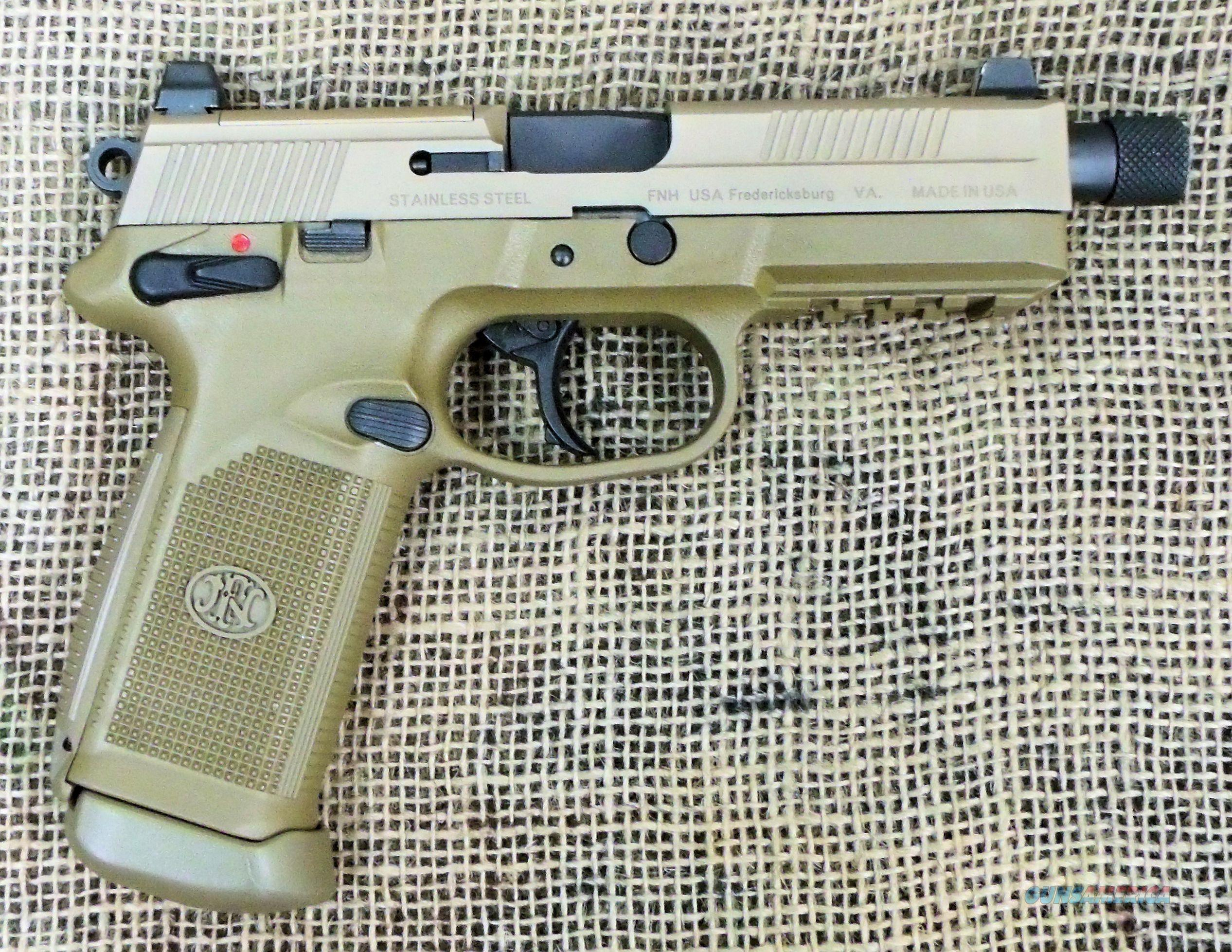 FNH Model FNX-45 Tactical, 45ACP Cal.  Guns > Pistols > FNH - Fabrique Nationale (FN) Pistols > FNX