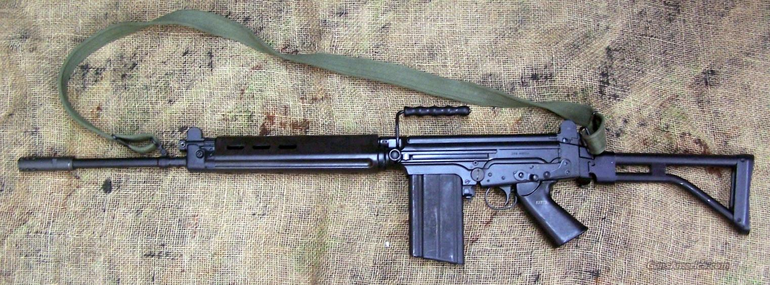FN/Browning Arms Co. FAL Para model Semi-Auto Rifle in 308/7.62 NATO  Guns > Rifles > FNH - Fabrique Nationale (FN) Rifles > Semi-auto > FAL Type