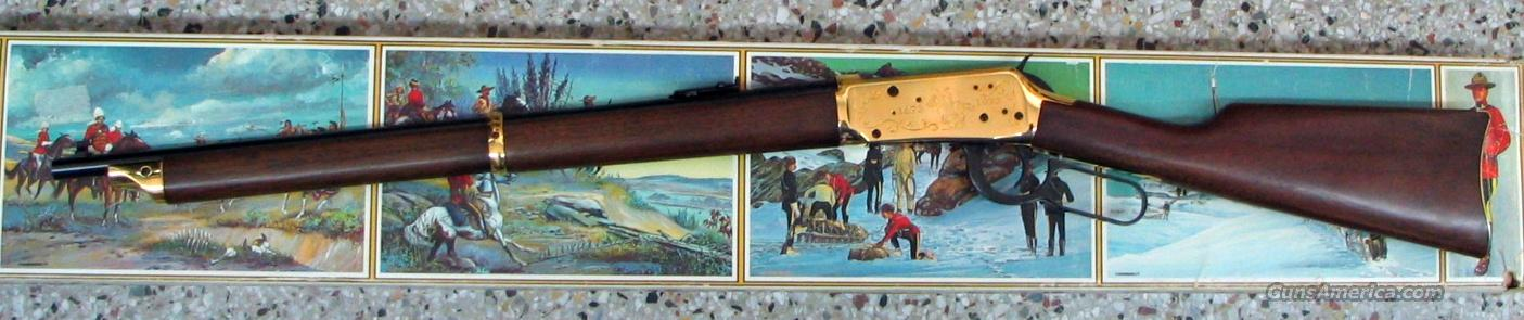 WINCHESTER Mod 1894 RCMP Centennial Comm. 30-30 Cal.  Guns > Rifles > Winchester Rifle Commemoratives