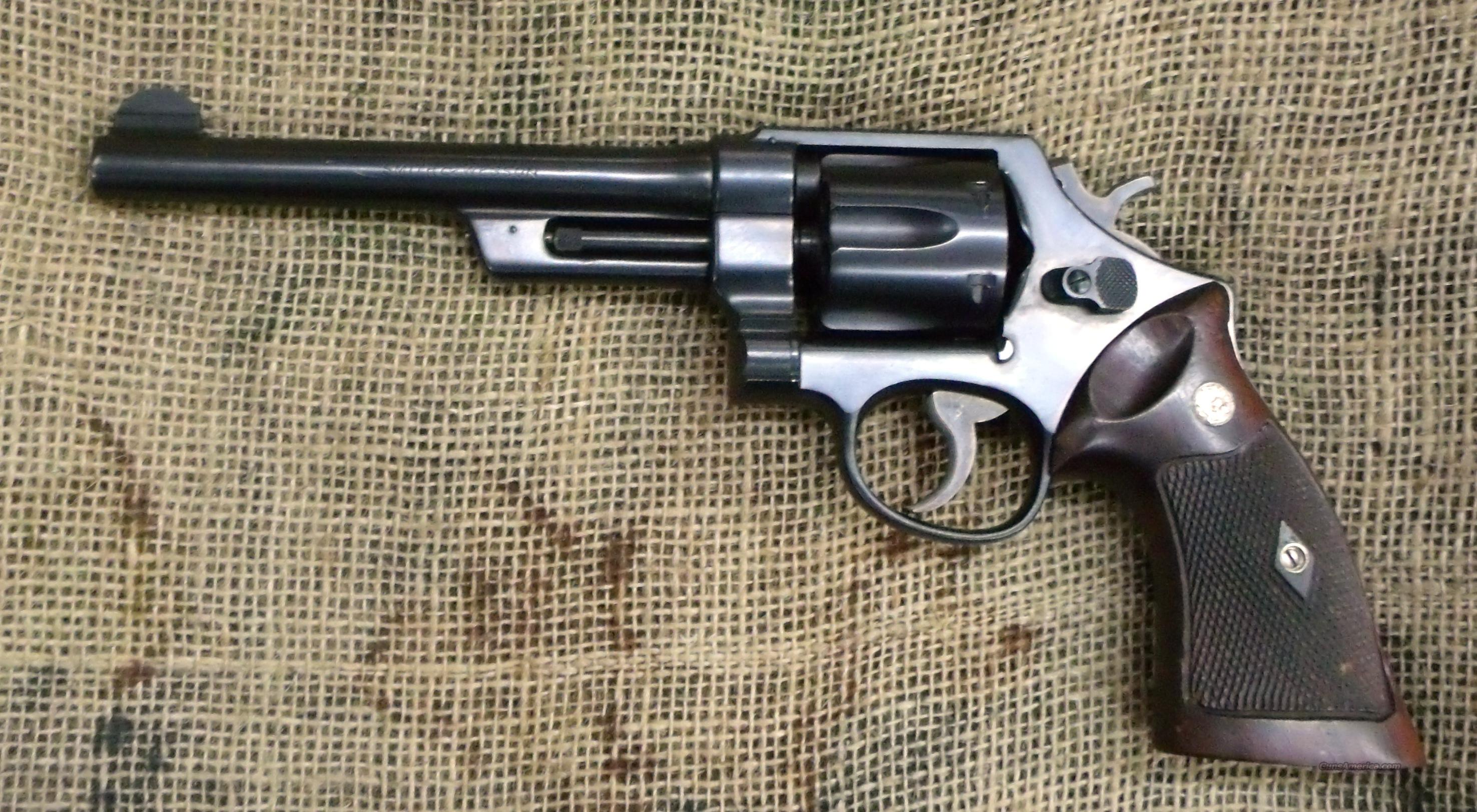 SMITH&WESSON Model of 1950 Military, 44 Spl., 6 1/2 inch  Guns > Pistols > Smith & Wesson Revolvers > Full Frame Revolver