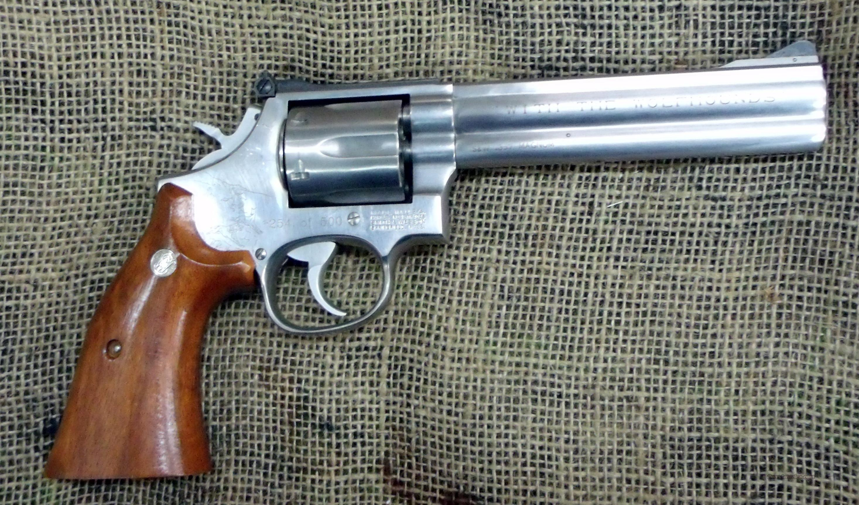"SMITH&WESSON Model 686-3, 6"" BBL, STS, ""Wolfhounds""  Guns > Pistols > Smith & Wesson Revolvers > Full Frame Revolver"
