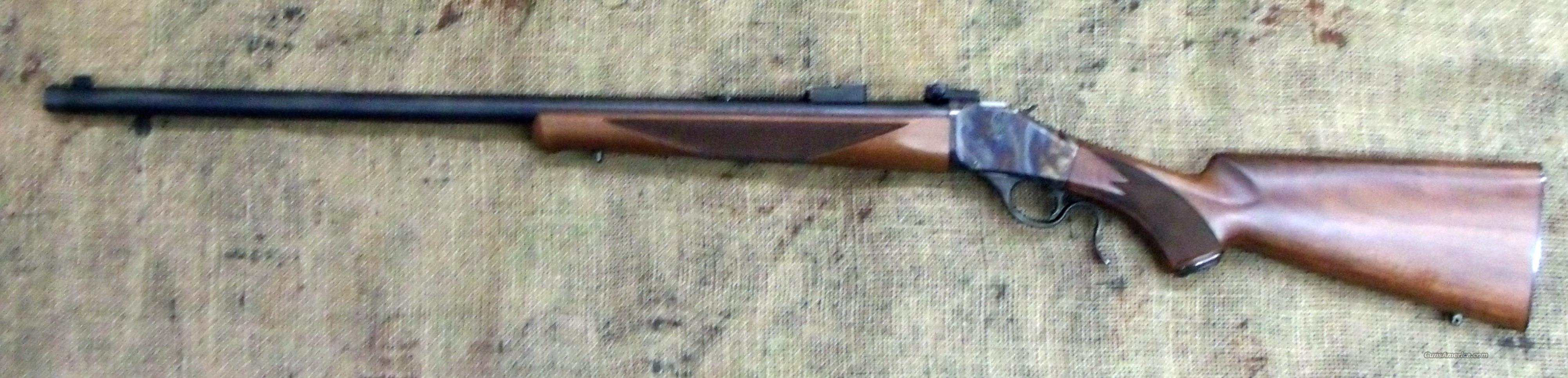 Winchester Model 1885 Traditional Sporter, 45-70 Cal  Guns > Rifles > Winchester Rifles - Modern Bolt/Auto/Single > Single Shot