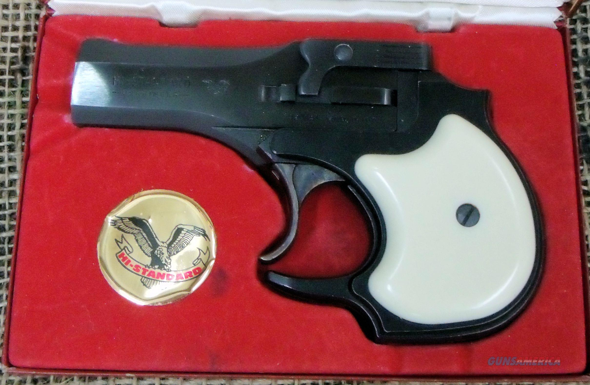 HIGH STANDARD Derringer Mod. D-100 Handgun in 22LR Cal.  Guns > Pistols > High Standard Pistols