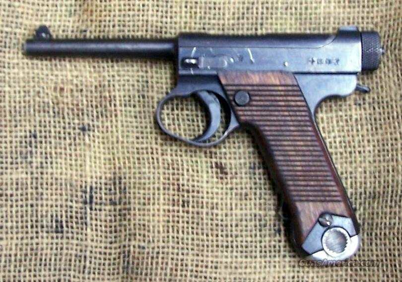 NAMBU Type 14 Pistol, 8mm Cal.  Guns > Pistols > Military Misc. Pistols Non-US