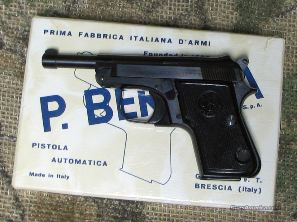 BERETTA Mod. 950, Long BBL, 22 Short cal Pistol  Guns > Pistols > Beretta Pistols > Small Caliber Tip Out