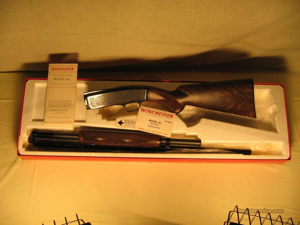 Winchester Model 42 High Grade NIB  Guns > Shotguns > Winchester Shotguns - Modern > Pump Action > Hunting
