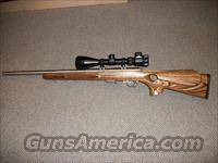 Savage Model 93R17 SS Bull Barrel Laminated Stk  Guns > Rifles > Savage Rifles > Accutrigger Models > Sporting
