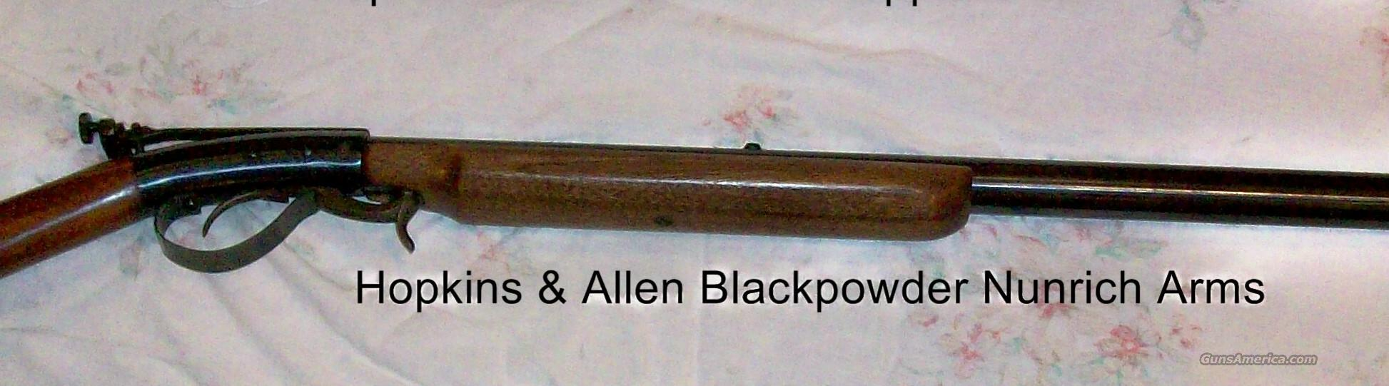 Hopkins & Allen UnderHammer   Guns > Rifles > Hopkins & Allen Rifles