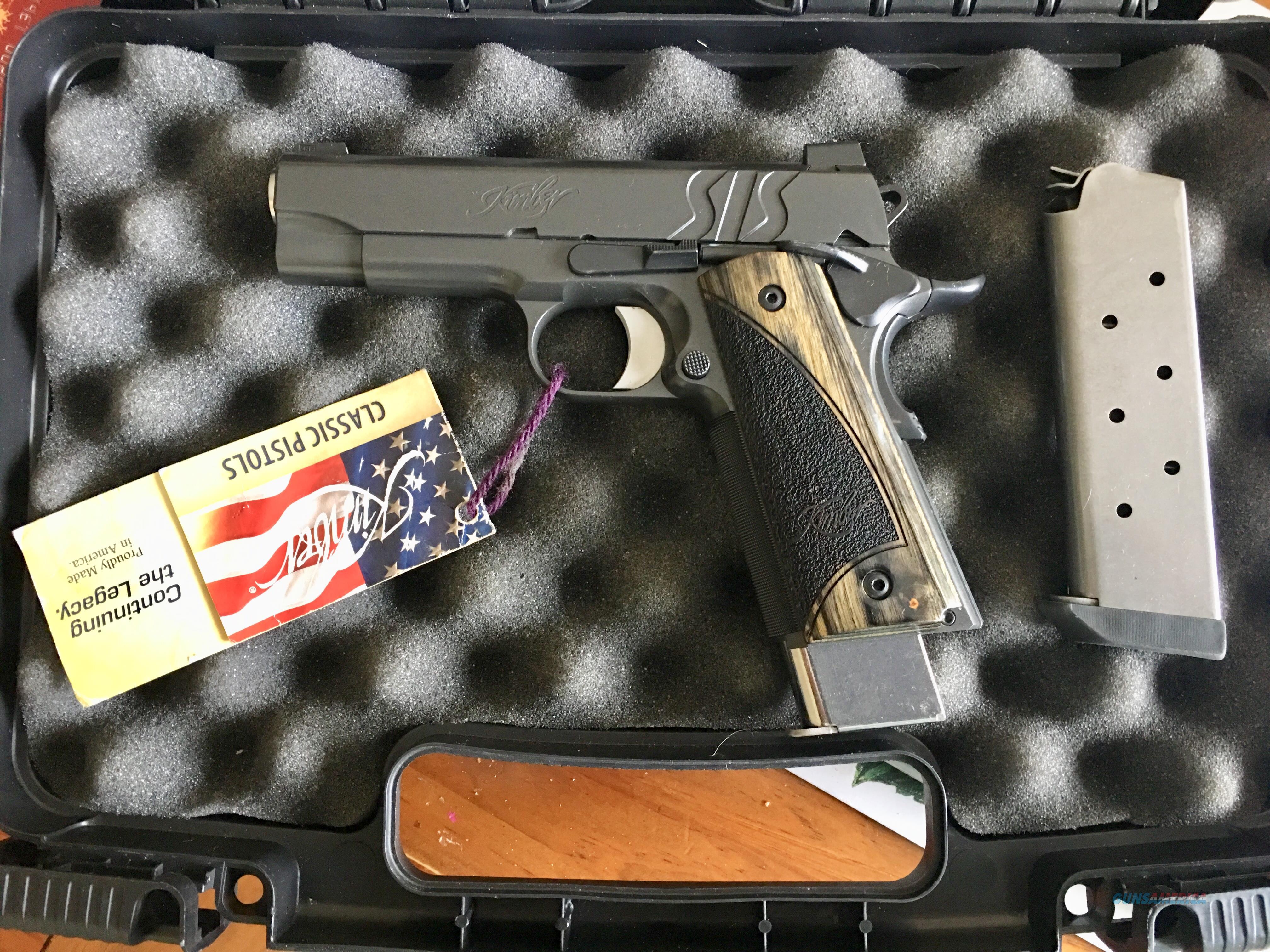 SIS Pro  Guns > Pistols > Kimber of America Pistols > 1911
