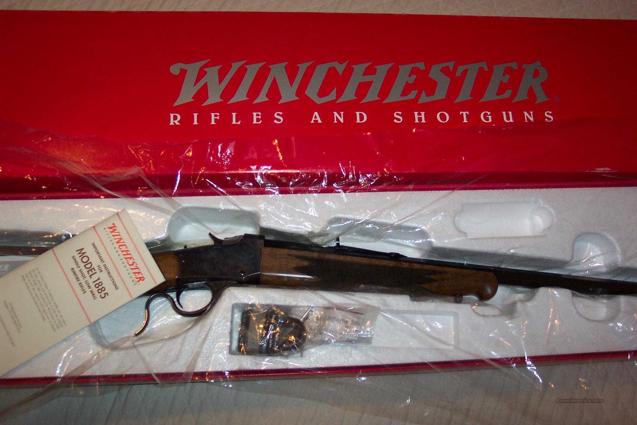 Winchester Rifle Low Wall 17 HMR  Guns > Rifles > Winchester Rifles - Modern Bolt/Auto/Single > Single Shot