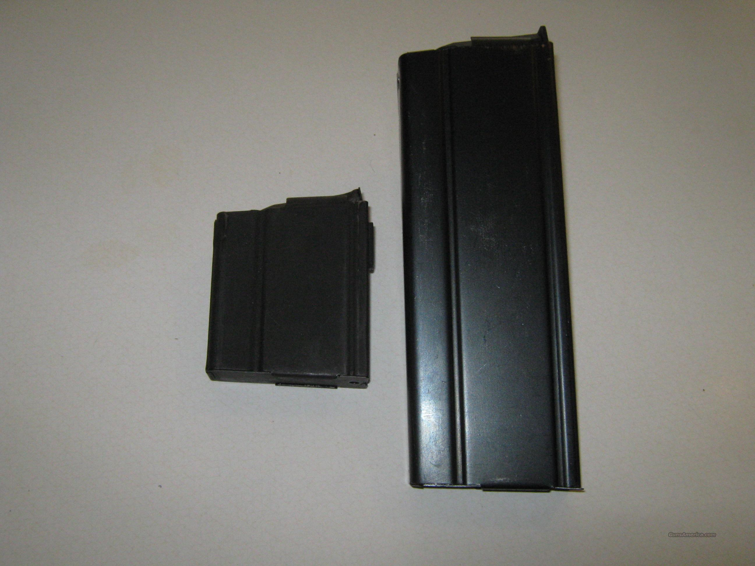 M1a M14 2 magazines 30 round and 5 round  Non-Guns > Magazines & Clips > Rifle Magazines > M-14/M1A