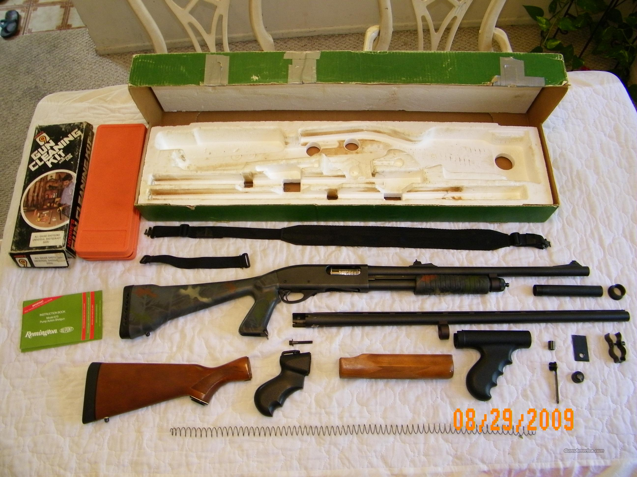 Remington 870 Express Combo  Guns > Shotguns > Remington Shotguns  > Pump > Tactical