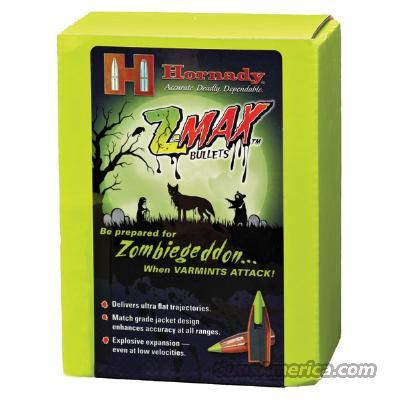 500 NIB 7.62X39 123 gr Zombie Max Bullets (not loaded Ammo)  Non-Guns > Reloading > Components > Bullets