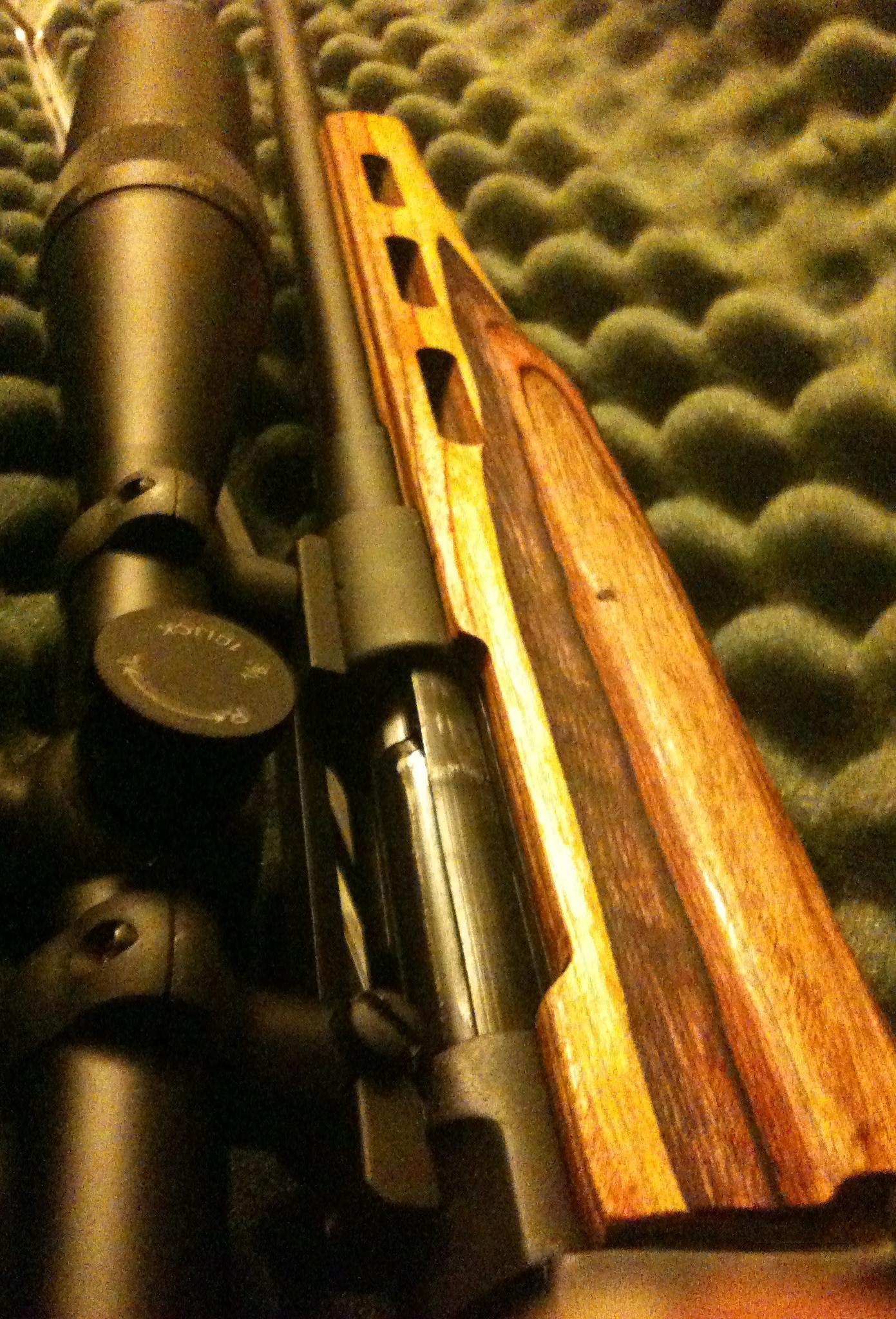Custom 8mm Mauser target rifle .323 hand built - REDUCED  Guns > Rifles > Custom Rifles > Bolt Action