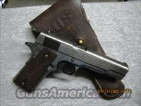 1917 WWI Military Issue Colt 45 (+)orig. holster  Guns > Pistols > Colt Automatic Pistols (1911 & Var)