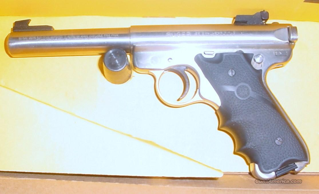 S,S, RUGER MARK II 22 LR IN BOX  Guns > Pistols > Ruger Semi-Auto Pistols > Mark I & II Family