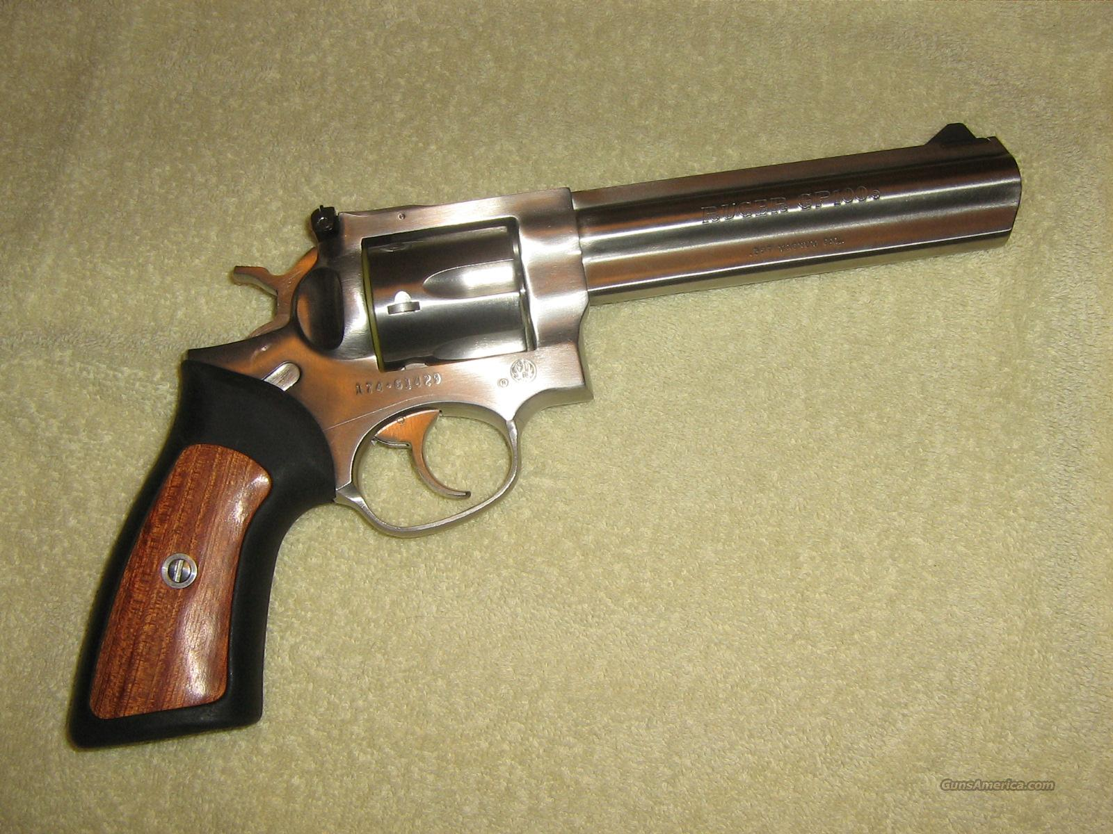 RUGER GP100 STAINLESS  Guns > Pistols > Ruger Double Action Revolver > Security Six Type