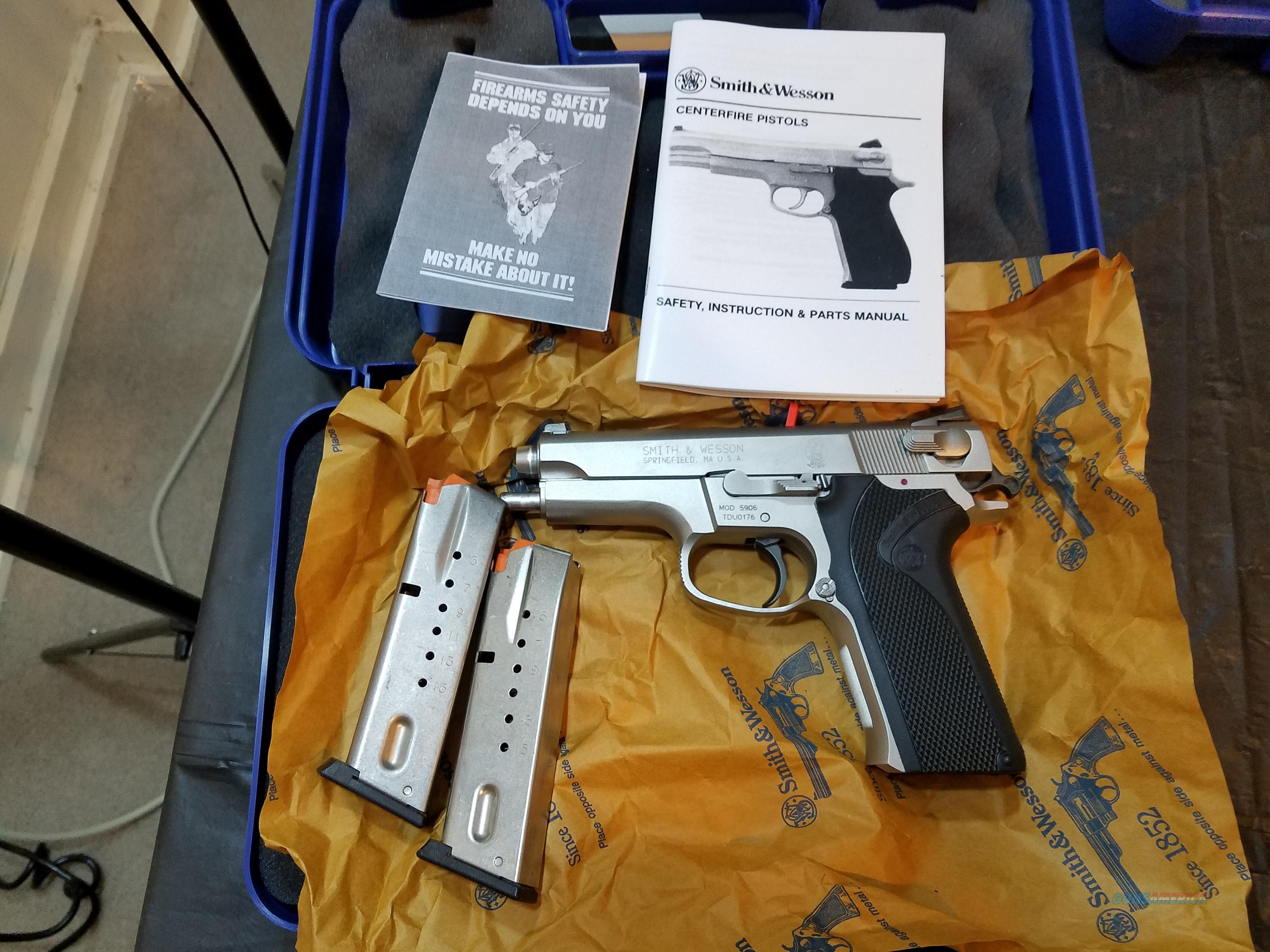 S&W 5906  Guns > Pistols > Smith & Wesson Pistols - Autos > Steel Frame