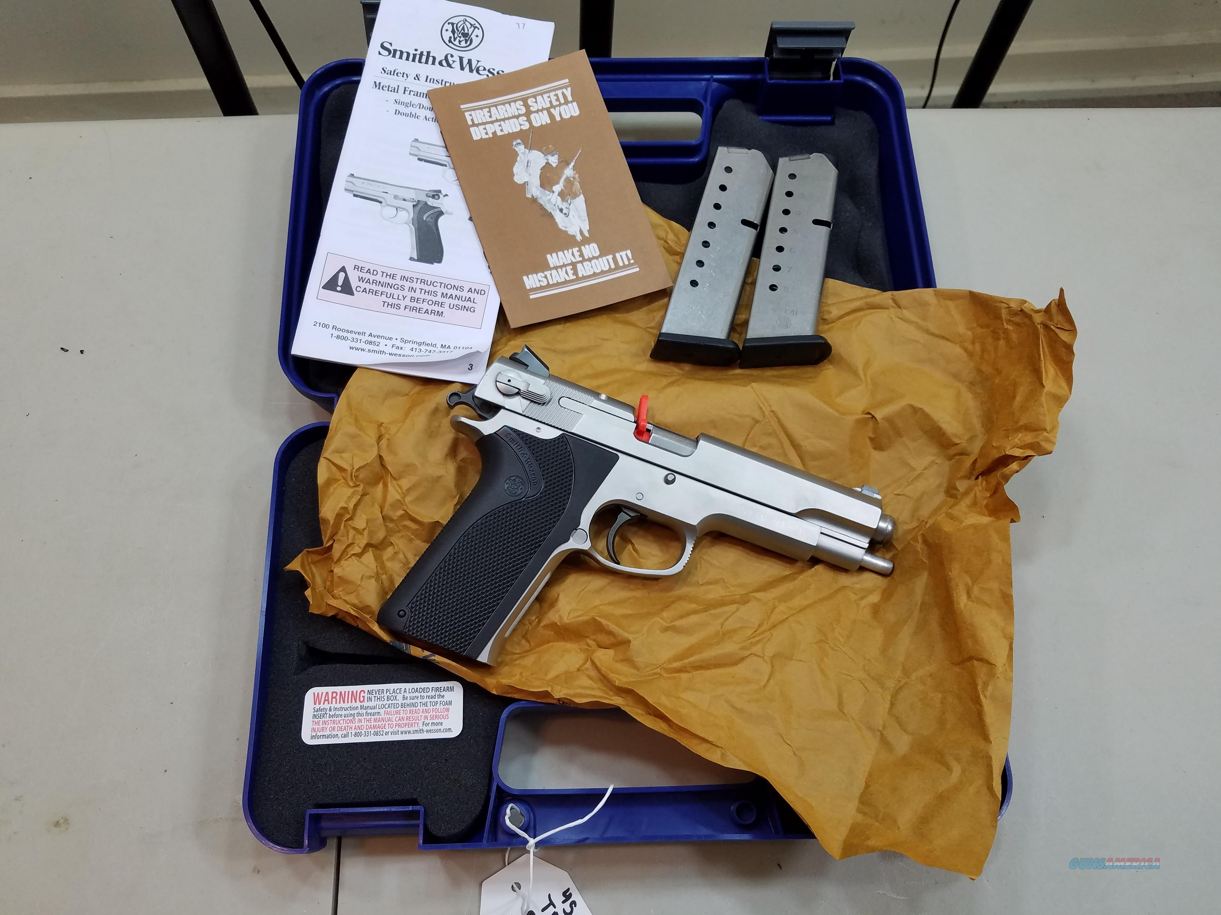 SMITH&WESSON  4506  Guns > Pistols > Smith & Wesson Pistols - Autos > Steel Frame