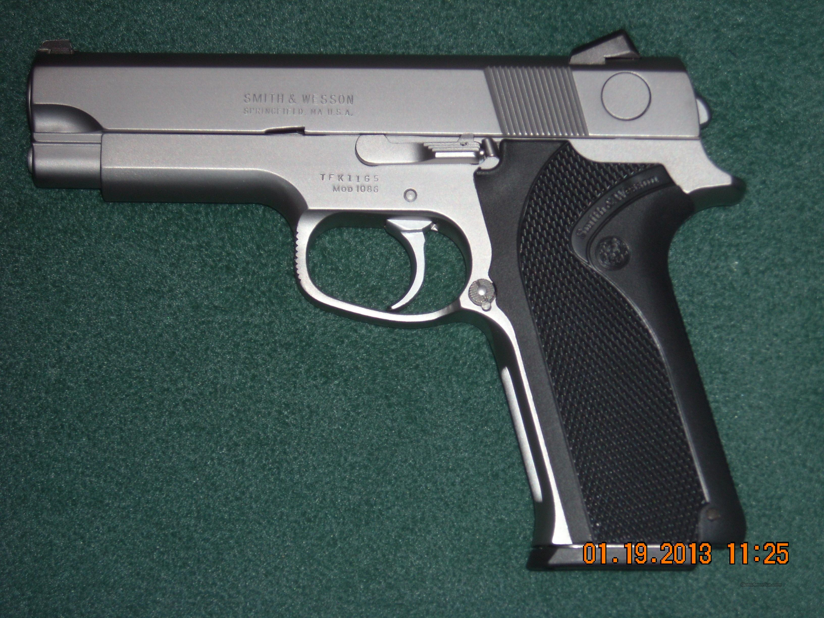 S&W 1086  10mm  Guns > Pistols > Smith & Wesson Pistols - Autos > Steel Frame