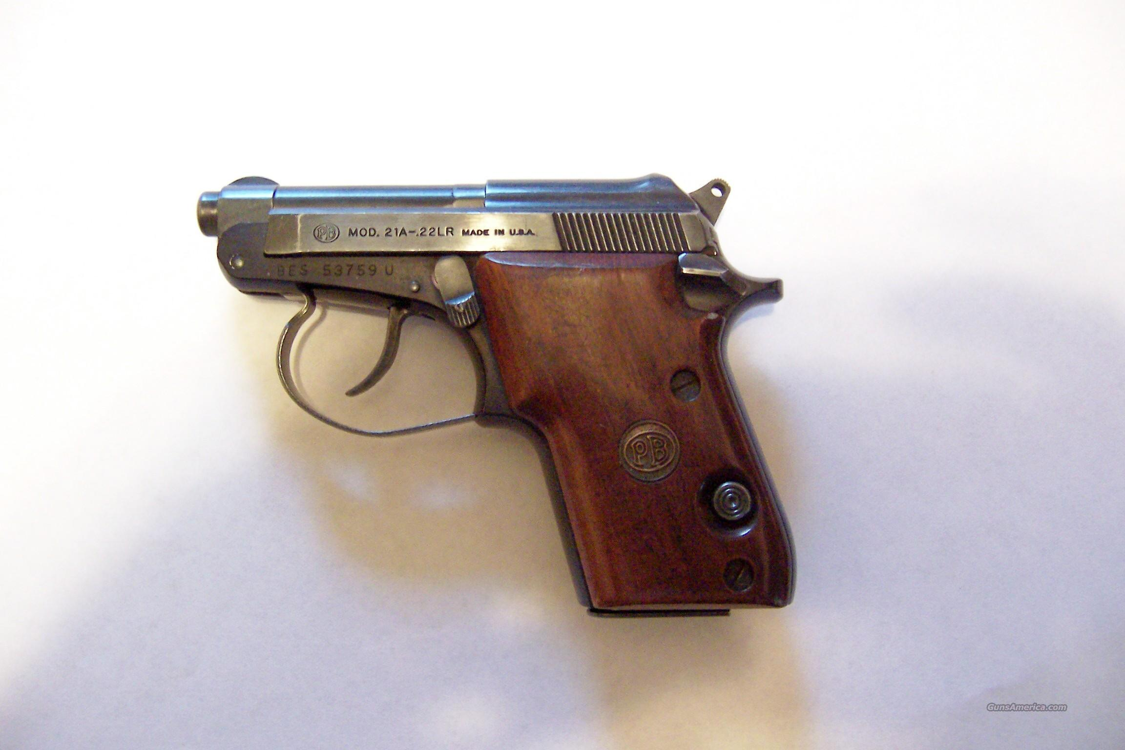 BERETTA  21 A  Guns > Pistols > Beretta Pistols > Small Caliber Tip Out