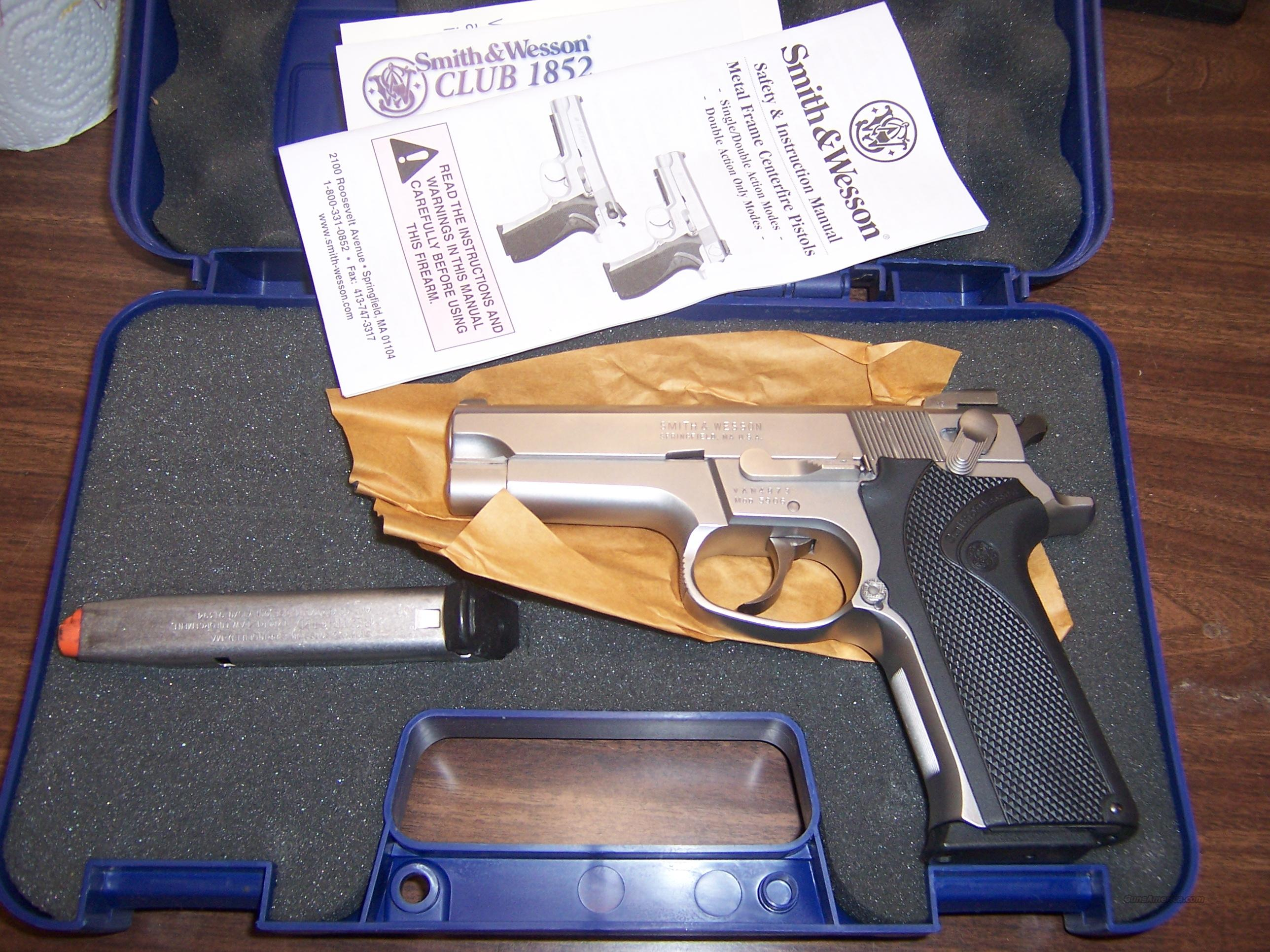 SW 5906  Guns > Pistols > Smith & Wesson Pistols - Autos > Steel Frame