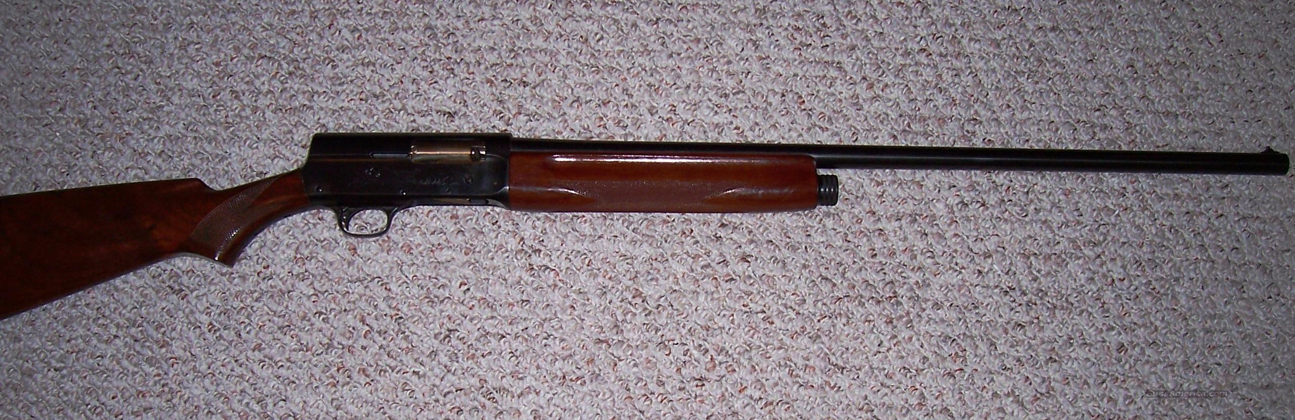 REMINGTON MODEL 11  Guns > Shotguns > Remington Shotguns  > Autoloaders > Hunting