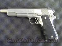 COLT STAINLESS STEEL MARK IV SERIES 80  Guns > Pistols > Colt Automatic Pistols (1911 & Var)