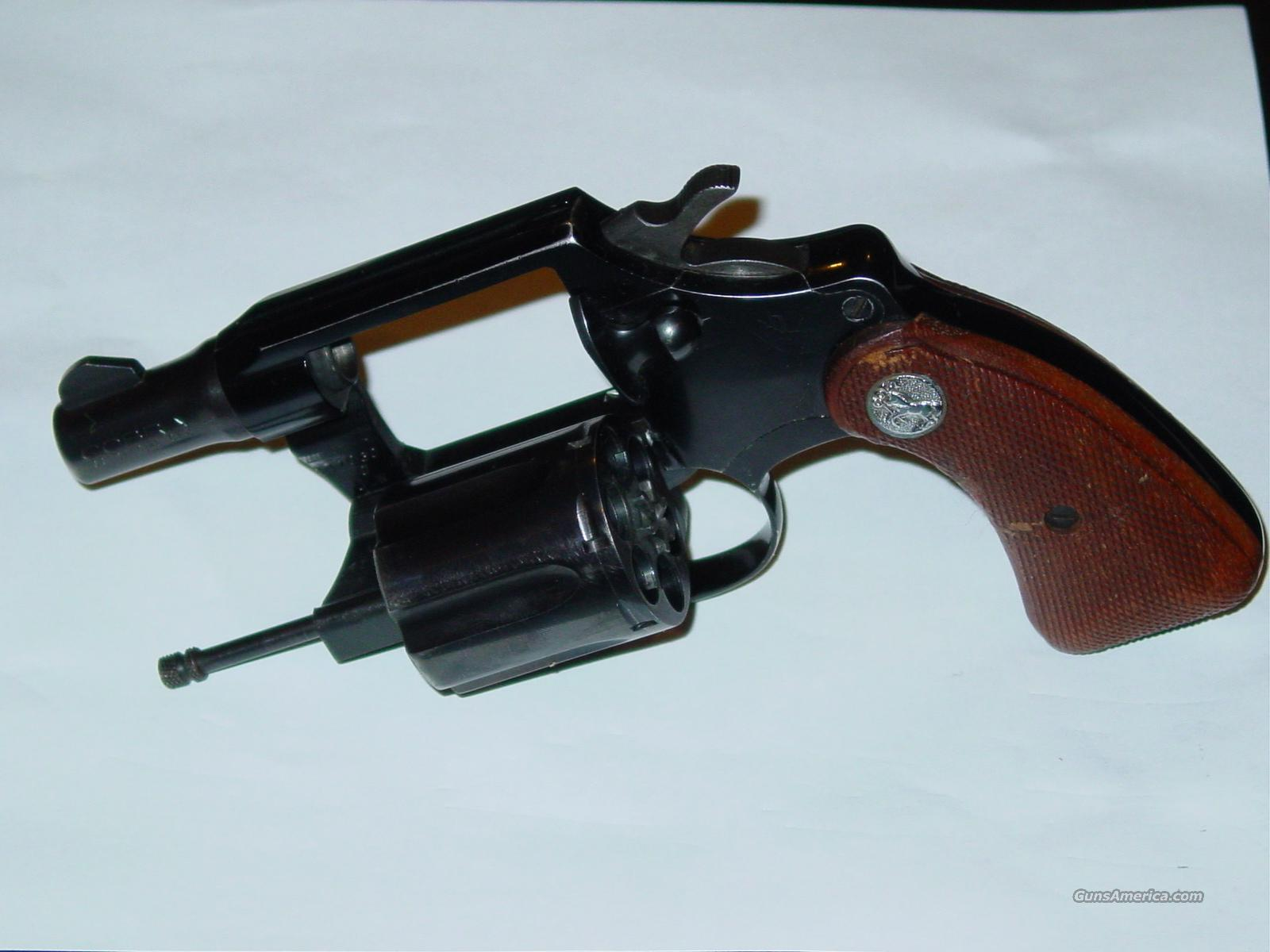 Colt Cobra 38 Special CTG - First Issue  Guns > Pistols > Colt Double Action Revolvers- Modern