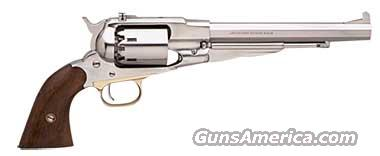 1858 New Army Stainless Steel .44 Caliber Target Revolver~NO FFL Required~   Guns > Pistols > Muzzleloading Modern & Replica Pistols (perc)