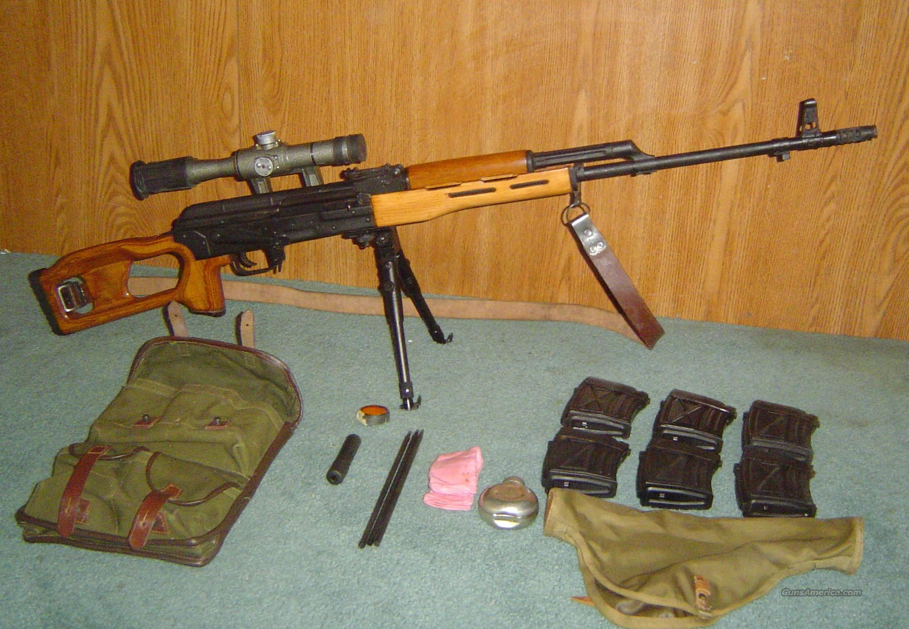 Romanian PSL-54C Sniper Rifle 7.62X54R with LPS 4x 6 TiP2 Scope  Guns > Rifles > Tactical/Sniper Rifles
