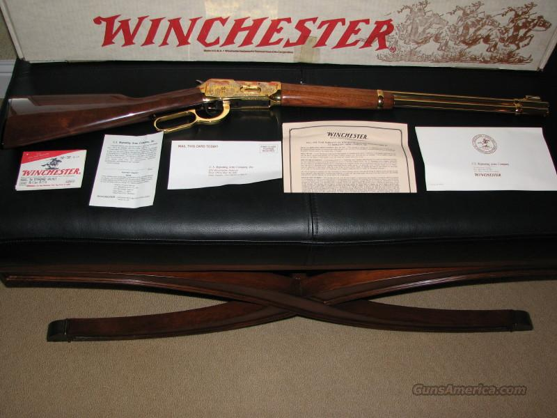 STURGIS 50TH ANNIVERSARY WINCHESTER 30-30  Guns > Rifles > Winchester Rifle Commemoratives