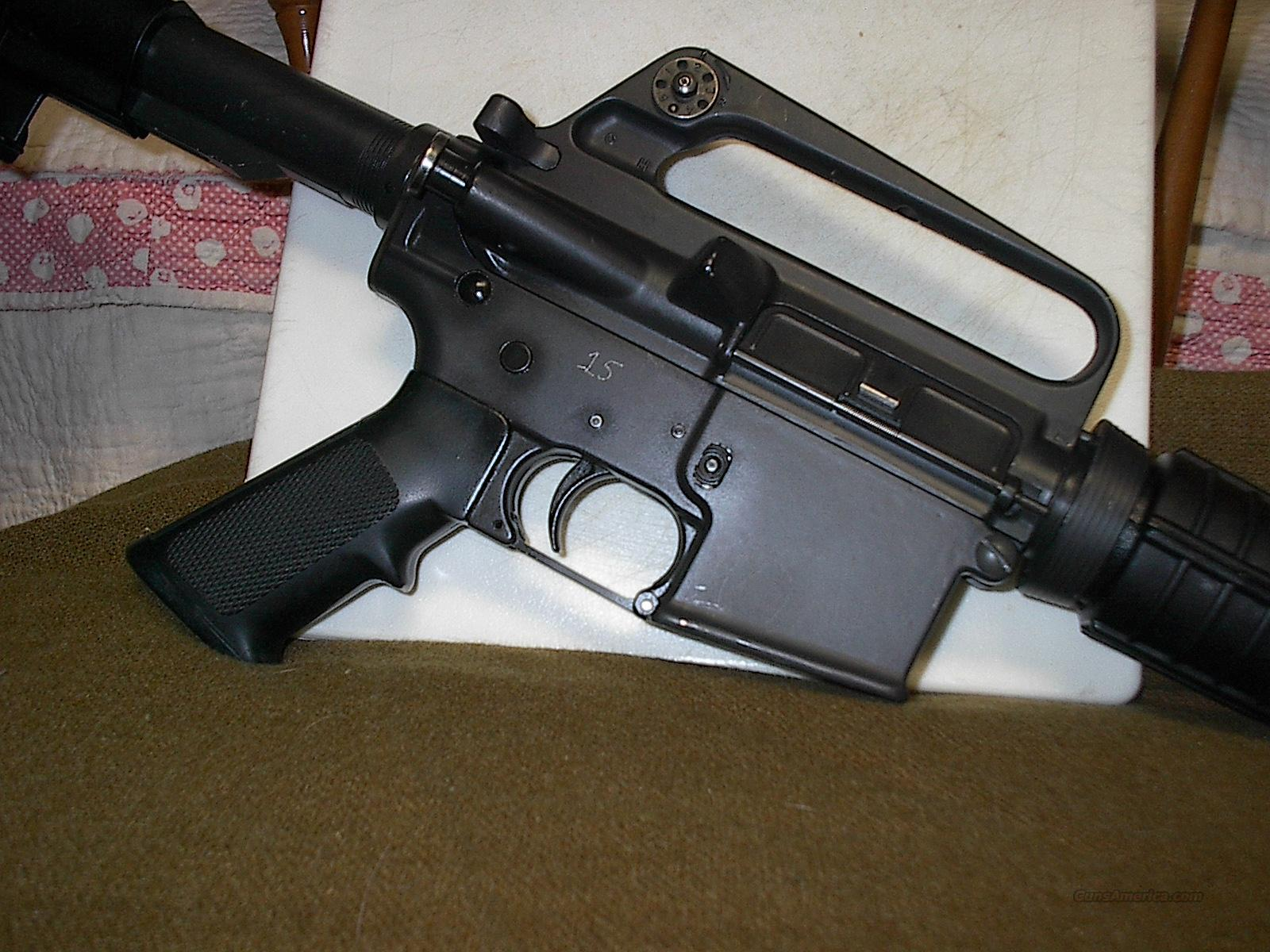Colt AR15 Sporter II Shorty - California Prison System  Guns > Rifles > Colt Military/Tactical Rifles