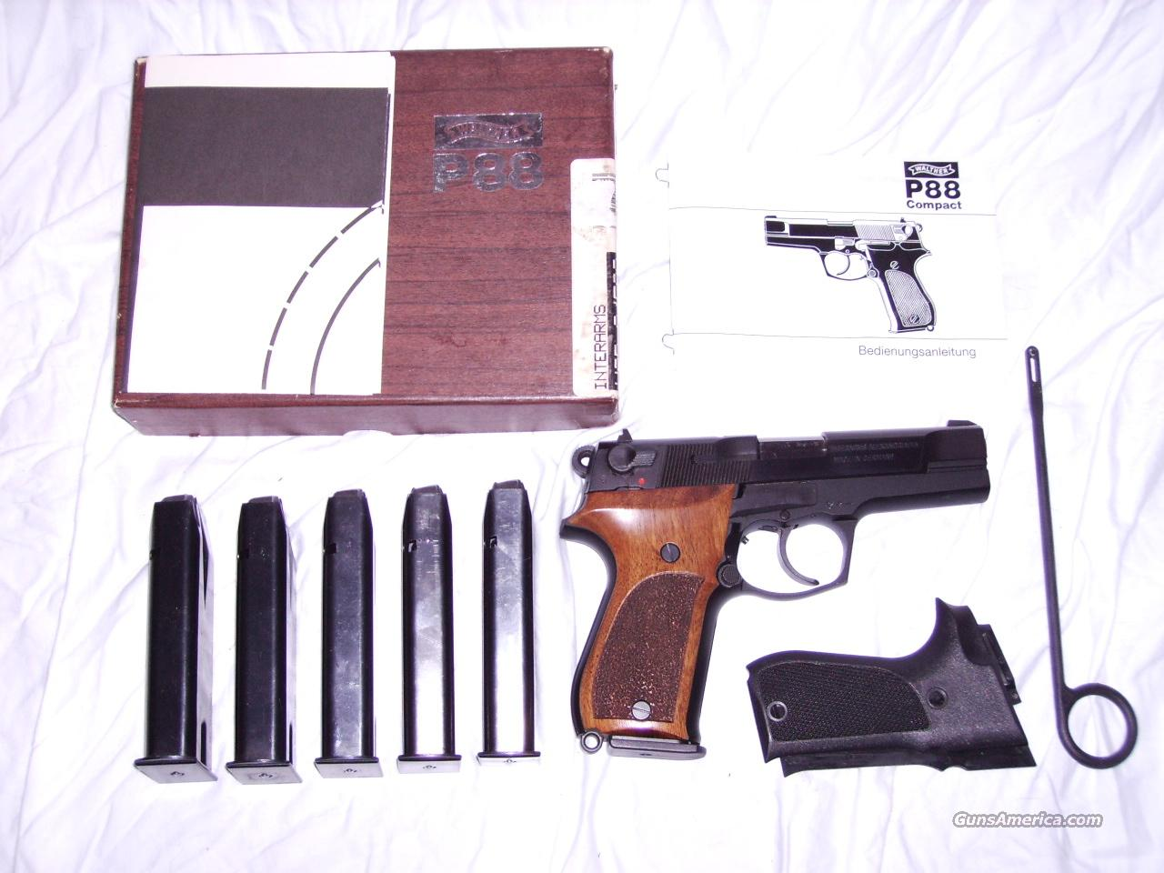 Walther P88 Compact  Guns > Pistols > Walther Pistols > Post WWII > Large Frame Autos