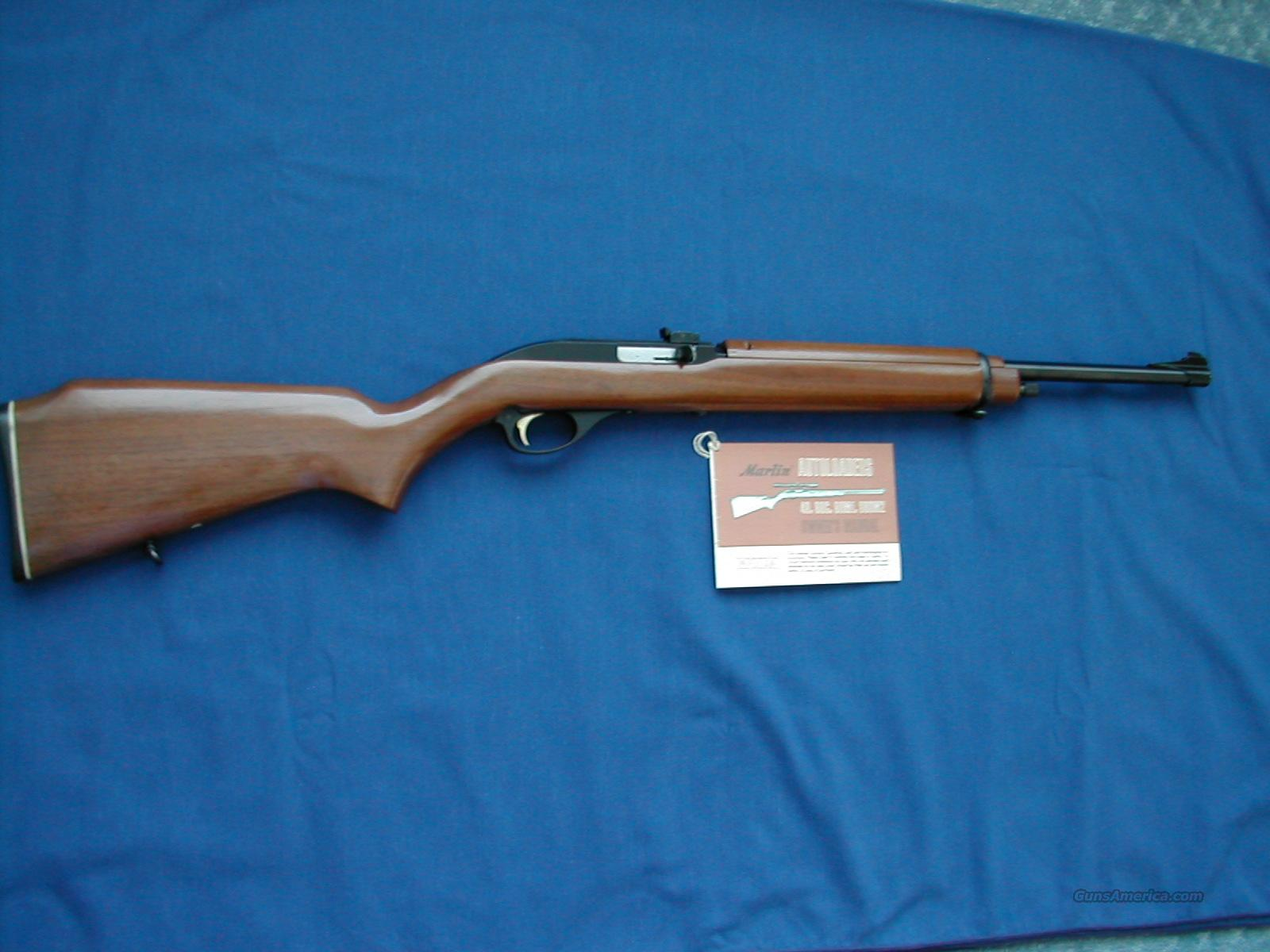 Marlin Model 99 M1 .22cal semi-auto   Guns > Rifles > Marlin Rifles > Modern > Semi-auto