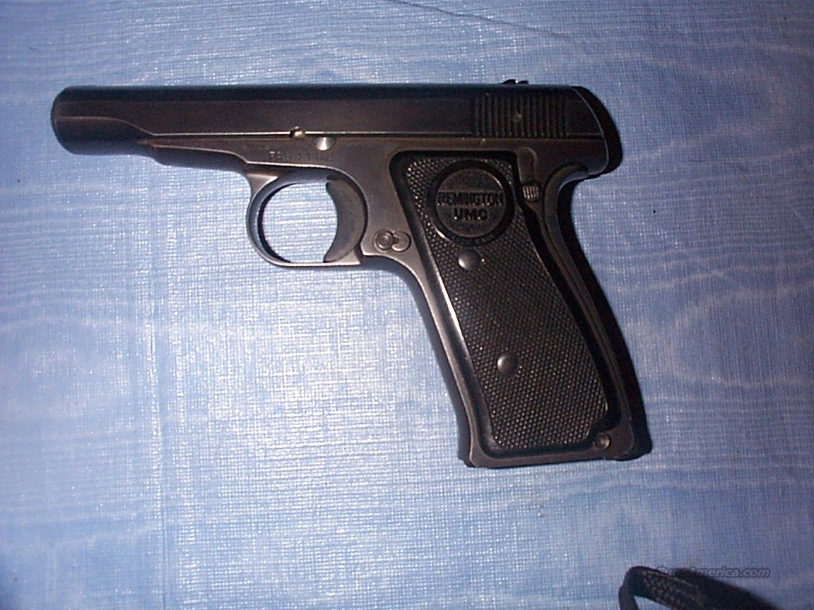Remington UMC Pistol, 32 Cal  Guns > Pistols > Remington Pistols - Modern