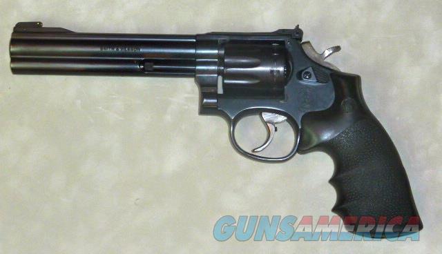 Smith & Wesson M-17-8. .22 LR, 10 shot, blue  Guns > Pistols > Smith & Wesson Revolvers > Med. Frame ( K/L )