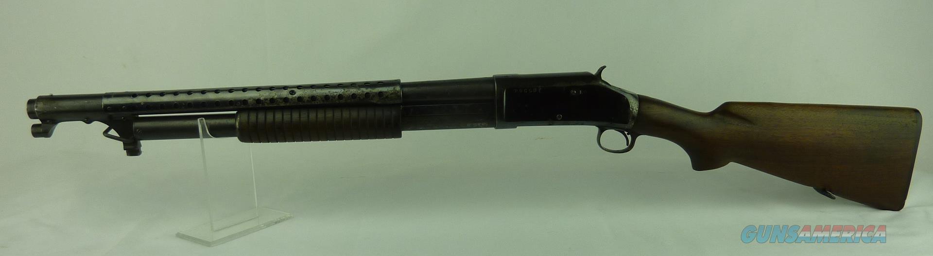 Winchester M-97, trench gun  Guns > Shotguns > Military Misc. Shotguns US