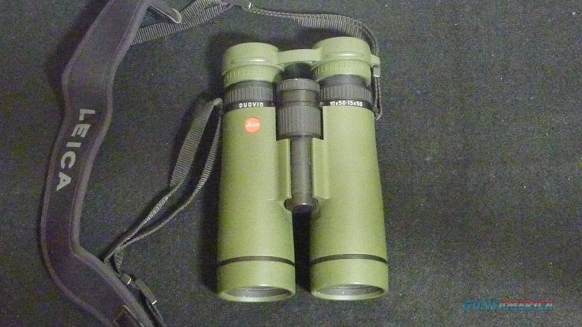 Leica Duovid 10-15x50 binoculars  Non-Guns > Scopes/Mounts/Rings & Optics > Non-Scope Optics > Binoculars