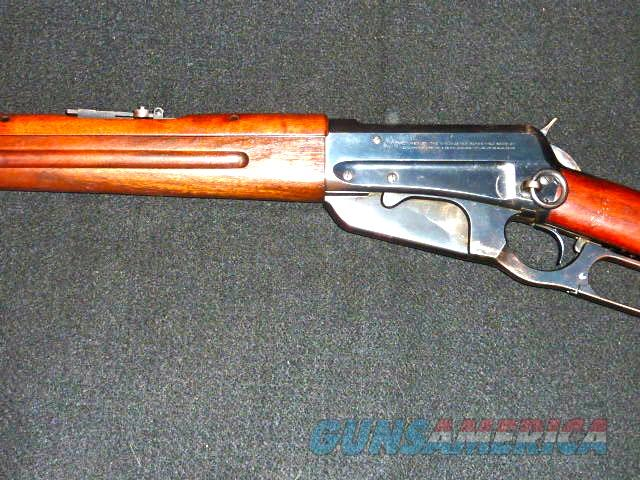Winchester M-1895 saddle ring carbine, .30 govt.  Guns > Rifles > Winchester Rifles - Pre-1899 Lever
