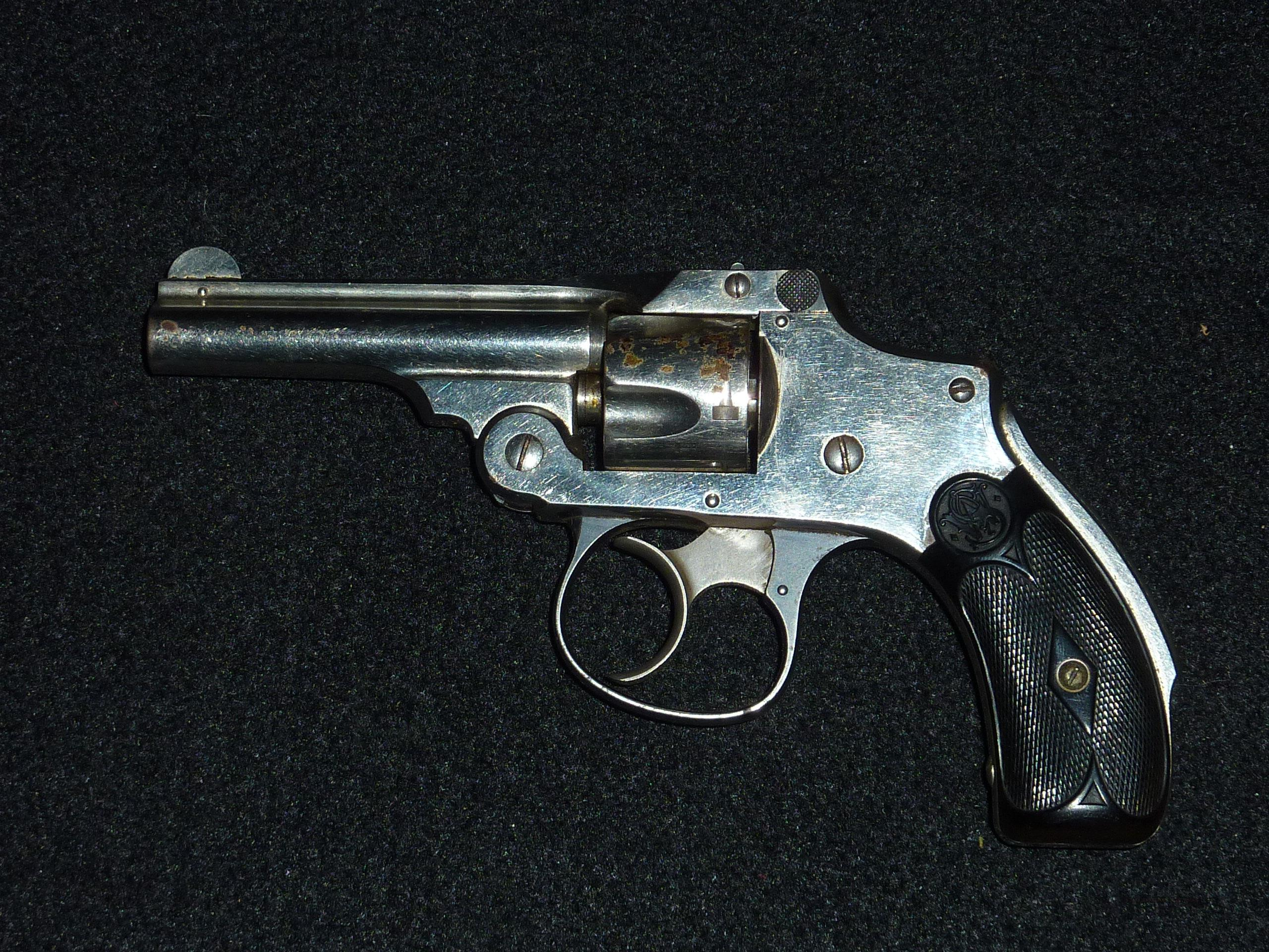 Smith & Wesson Safety hammerless, 2nd model, .32 SW  Guns > Pistols > Smith & Wesson Revolvers > Pre-1945