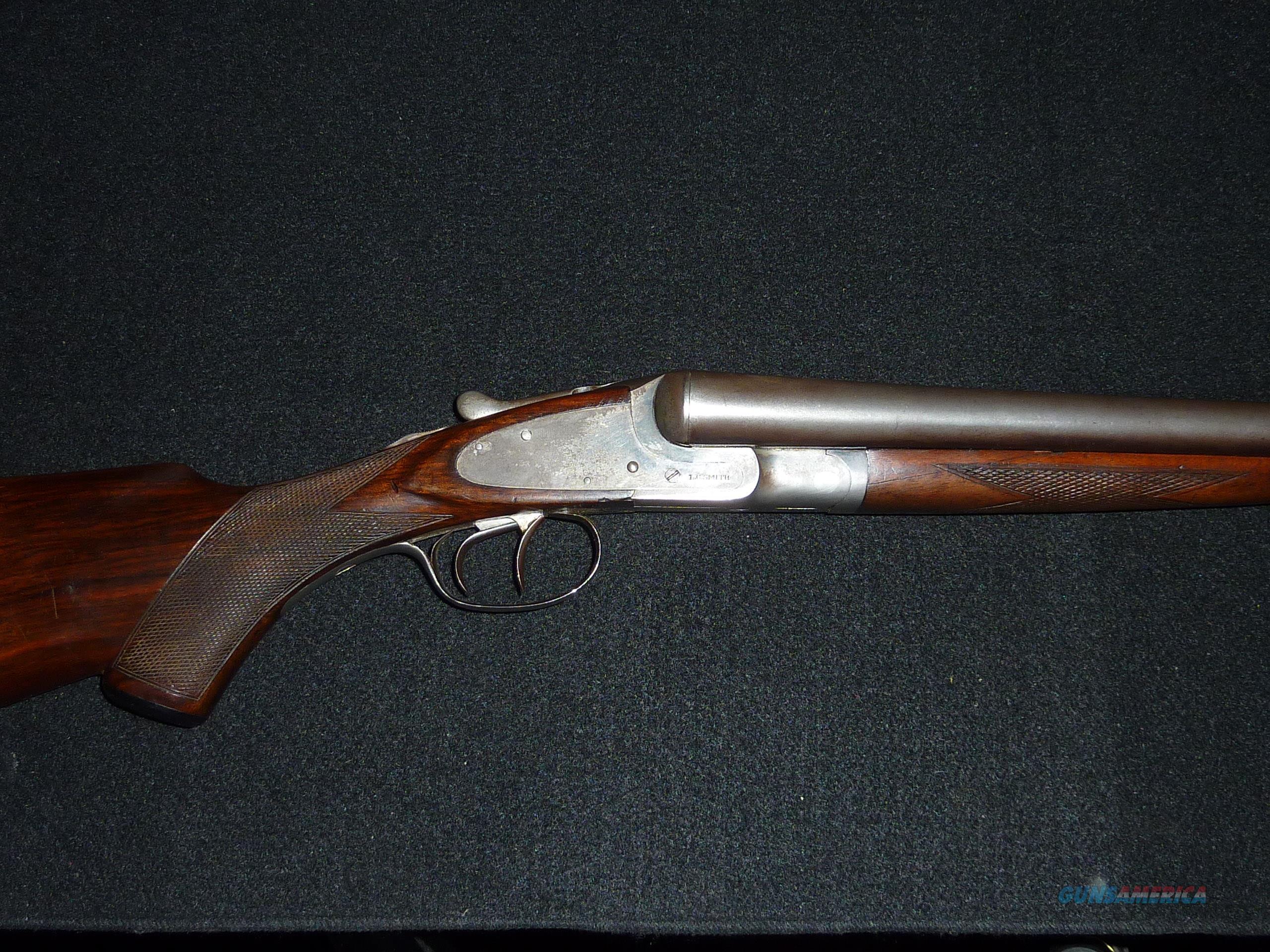 L.C. Smith field grade, 12 ga.  Guns > Shotguns > L.C. Smith Shotguns
