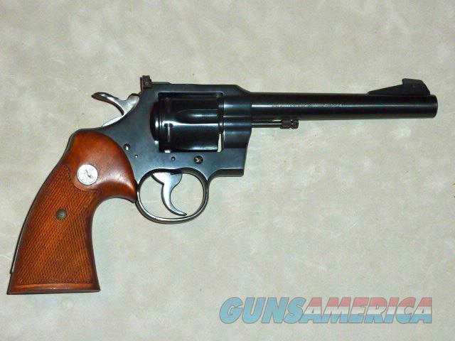 Colt Officer's Model Match, .22lr ANIB  Guns > Pistols > Colt Double Action Revolvers- Modern