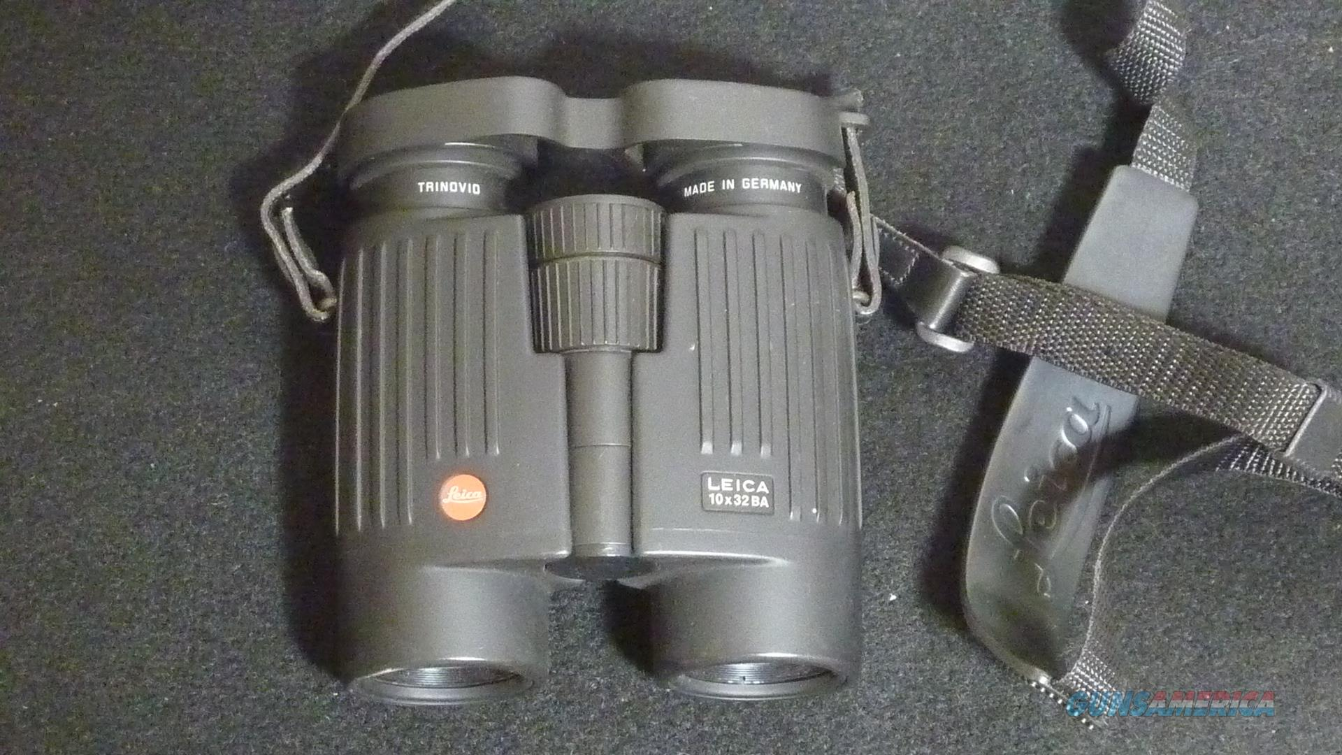Leica 10x32 BA binoculars  Non-Guns > Scopes/Mounts/Rings & Optics > Non-Scope Optics > Binoculars