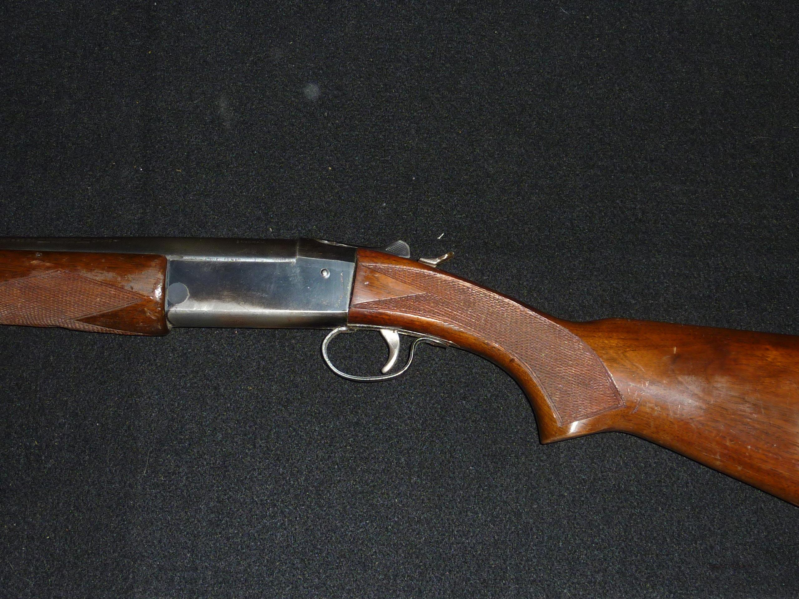 Winchester M-37 shotgun, 20 ga.  Guns > Shotguns > Winchester Shotguns - Modern > Bolt/Single Shot