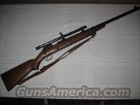 Winchester model 52  Guns > Rifles > Winchester Rifles - Modern Bolt/Auto/Single > Other Bolt Action